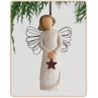 Angyal csillaggal dísz - Angel of Light Ornament
